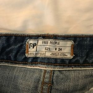 Free People Shorts - Free people shorts size 24